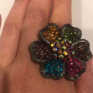 Jewelry Luscious Lips Ring Poshmark